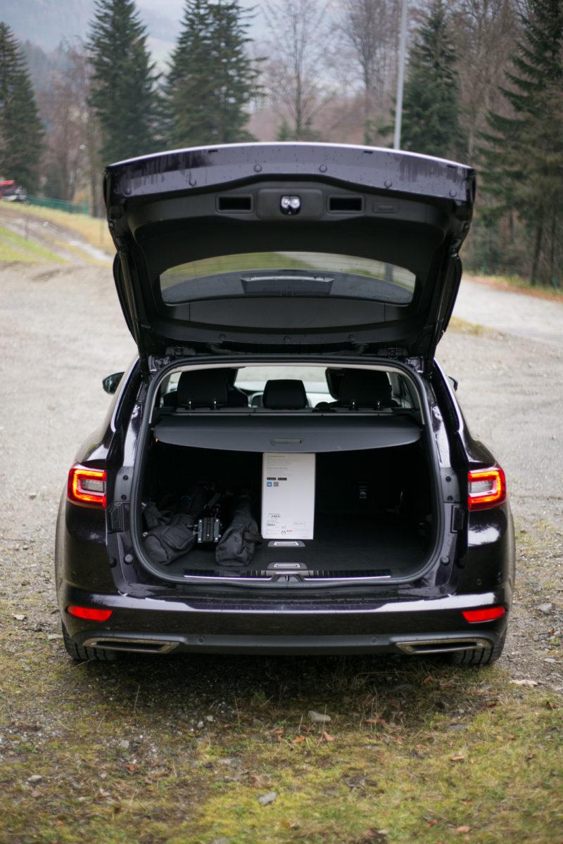 Renault Talisman tailgate